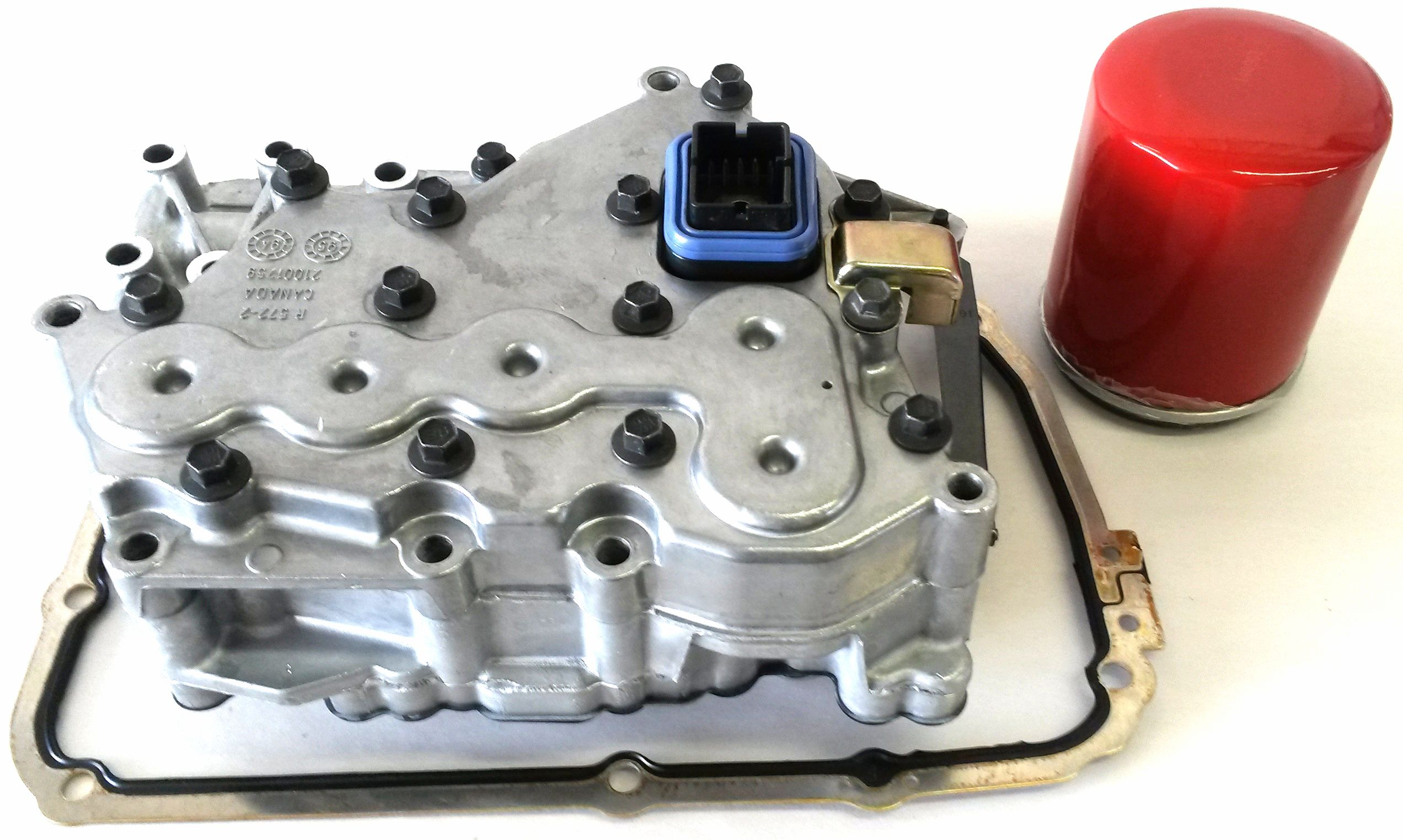 1997-2002 TAAT SATURN VALVE BODY WITH BONDED GASKET SPIN ON FILTER EXTERNAL REMANUFACTURED